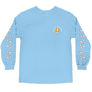 Skate Mental Take A Flight 2.0 Longsleeve T-Shirt Powder Blue