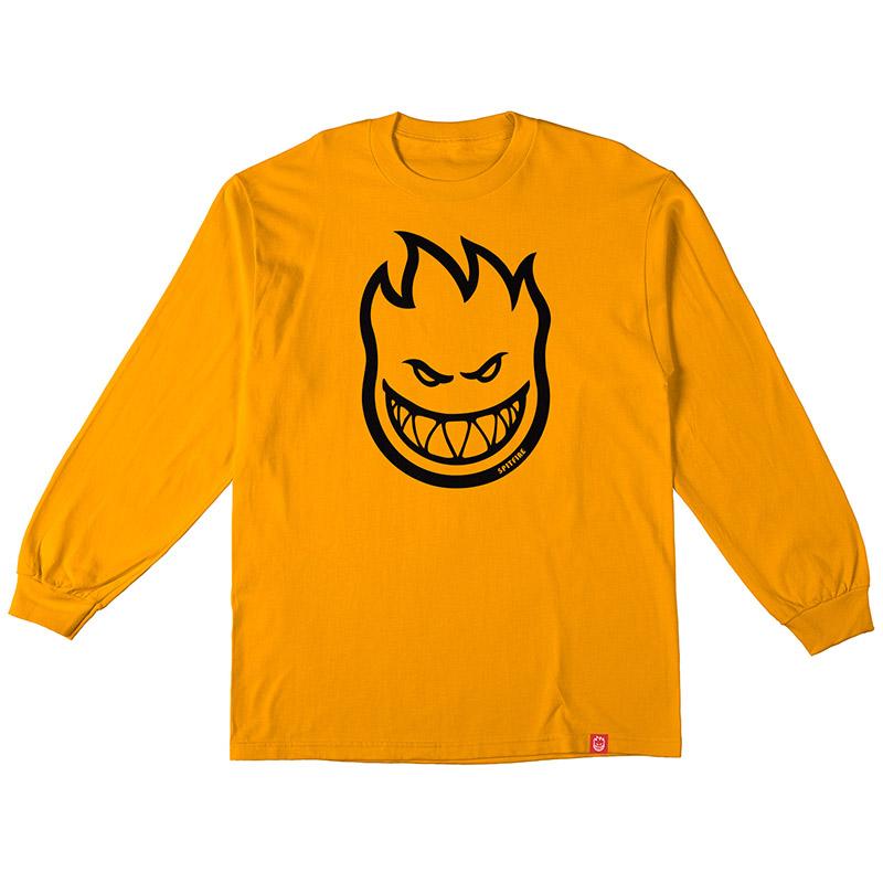 Spitfire Bighead Longsleeve T-Shirt Gold/Black