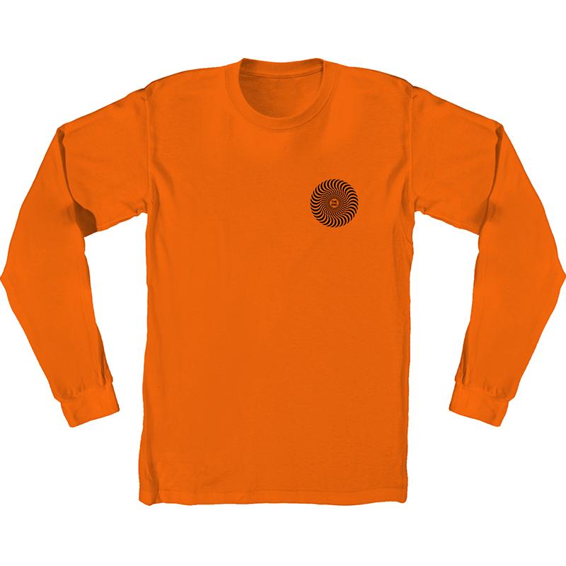 Spitfire Covert Classic Longsleeve T-shirt Orange