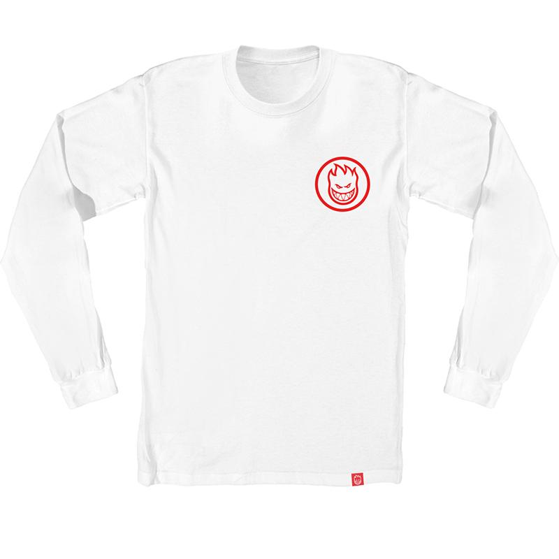 Spitfire Multi Swirl Capsule Longsleeve T-Shirt White