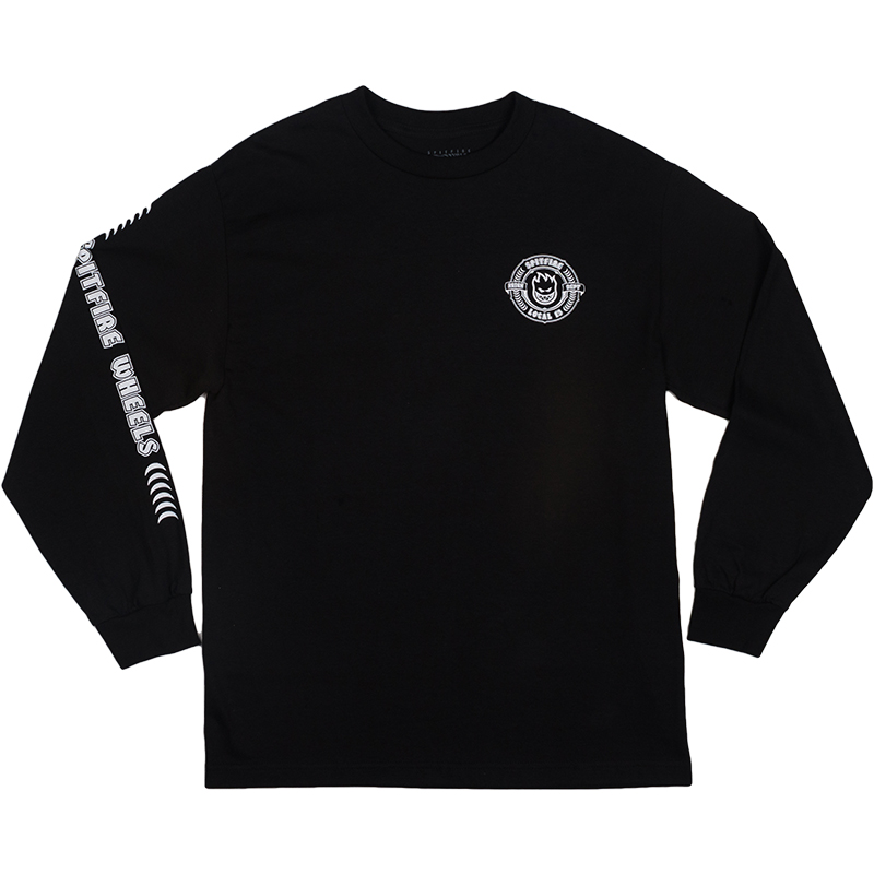Spitfire X Skatestore Arson Department Longsleeve T-Shirt Black