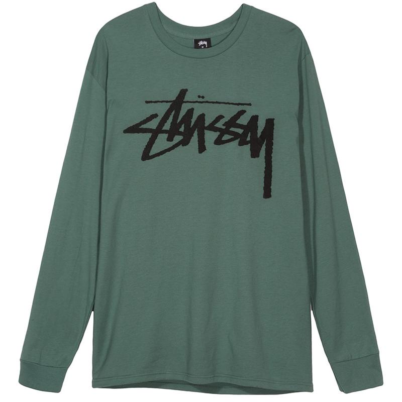 Stussy Old Stock Longsleeve T-Shirt Sage