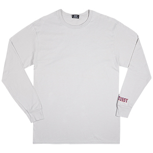 Stussy Psychedelic Daze Longsleeve T-Shirt Fog