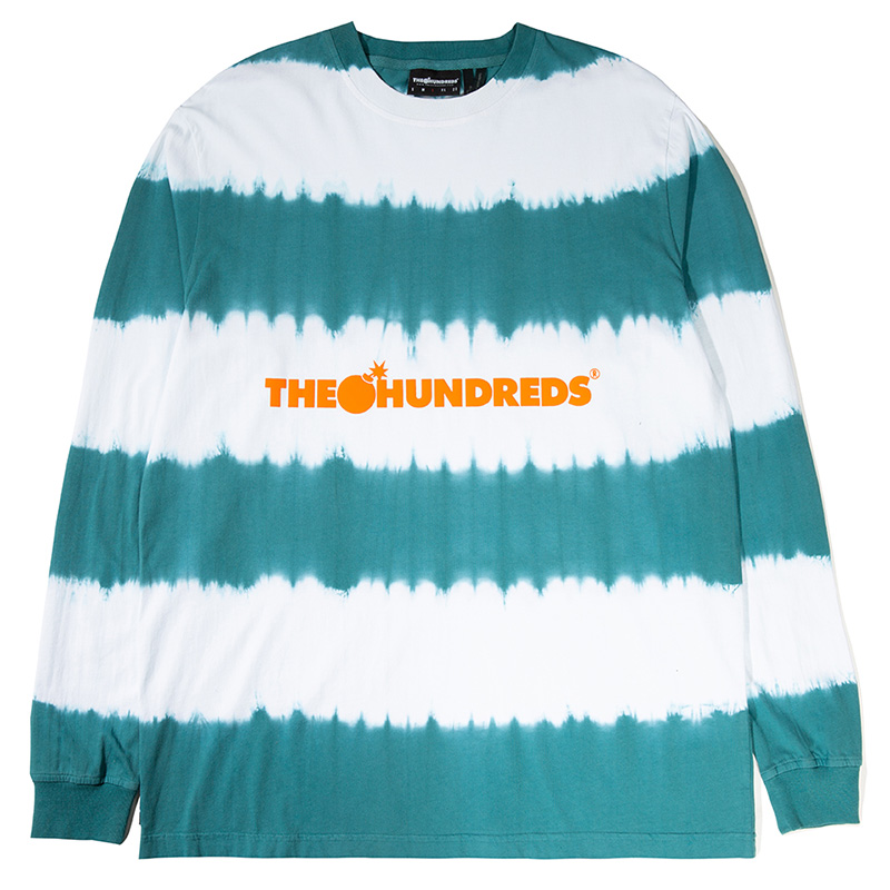 The Hundreds Bars Longsleeve T-Shirt Pool Blue