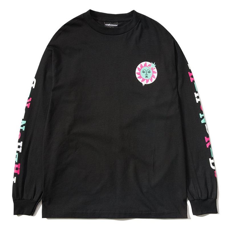 4eb86ed43ffd The Hundreds Global Warming Longsleeve T-Shirt Black. undefined