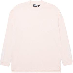 The Hundreds Mason Longsleeve T-Shirt Pale Pink