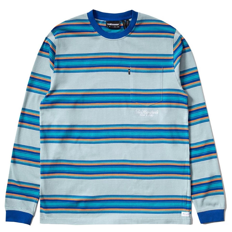 The Hundreds Norton Longsleeve T-Shirt Blue