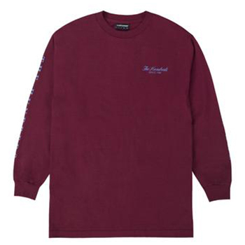 The Hundreds Nothing Is Sacred Longsleeve T-Shirt Burgundy