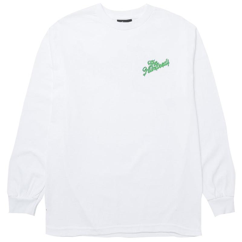 The Hundreds Ooze Slant Longsleeve T-Shirt White