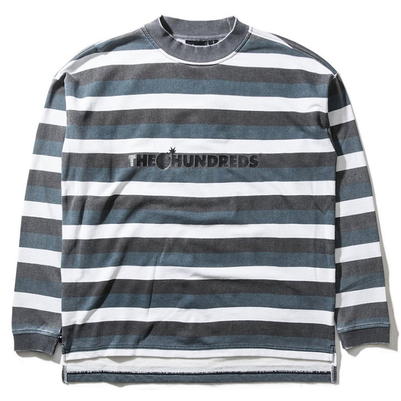 The Hundreds Park Longsleeve T-Shirt Black