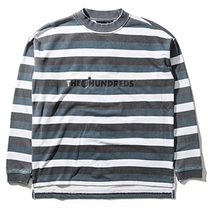 The Hundreds Park Longsleeve T-Shirt Black