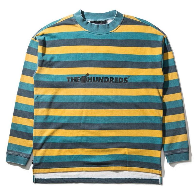 The Hundreds Park Longsleeve T-Shirt Emrald