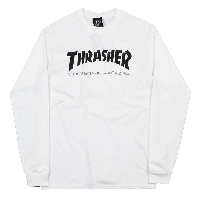Thrasher Skate Mag Longsleeve T-Shirt White