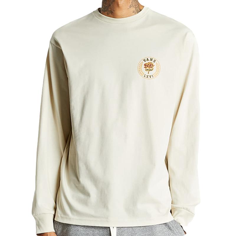 Vans 66 Champs Longsleeve T-Shirt Oatmeal