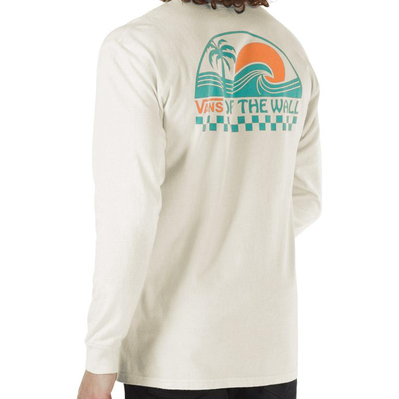 Vans Barreled Longsleeve T-Shirt Oatmeal