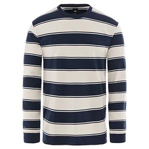 Vans Chamberlain Longsleeve T-Shirt Dress Blues/Natural