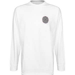 Vans Checkered Longsleeve T-shirt White