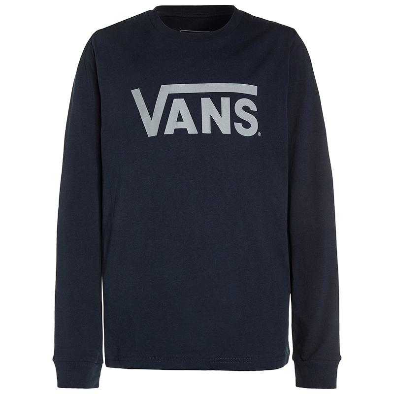 Vans Classic Longsleeve T-Shirt Navy/Frost Grey