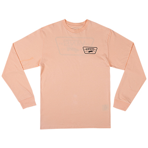 Vans Full Patch Back Longsleeve T-shirt Apricot Ice/Black