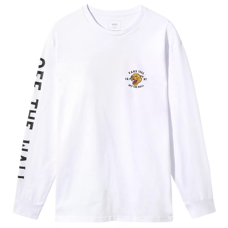 Vans Growler Longsleeve T-Shirt White