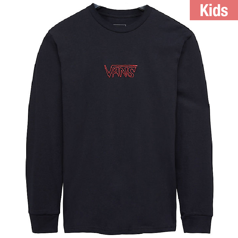 Vans Kids Sketch Tape Longsleeve T-shirt Black