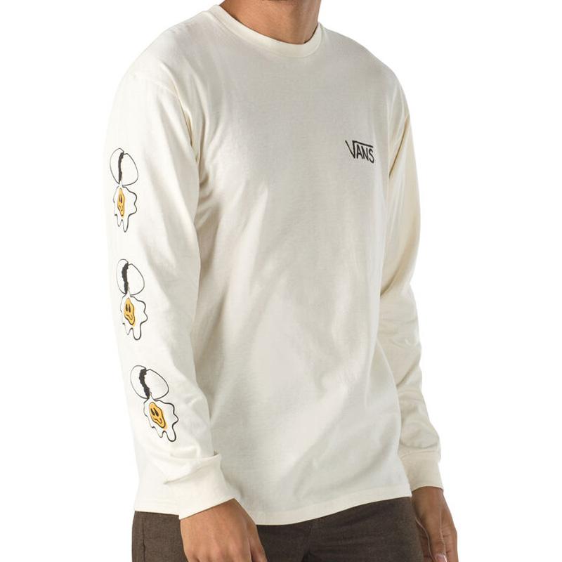 Vans Micro Dazed Egg Longsleeve T-Shirt Seedpearl