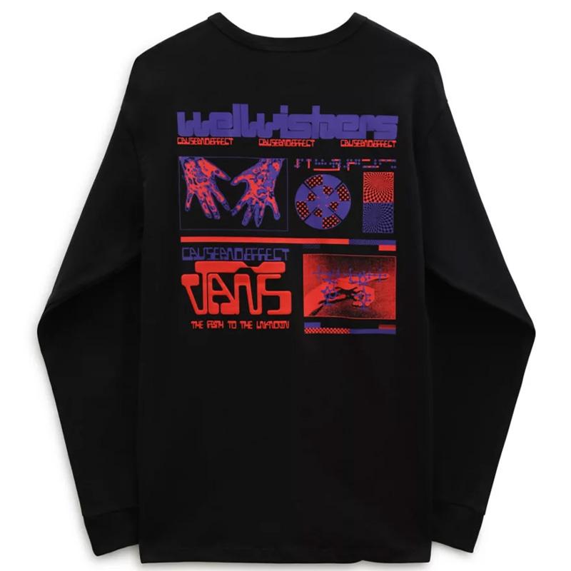 Vans Off The Wall Gallery Ruben Longsleeve T-Shirt Black