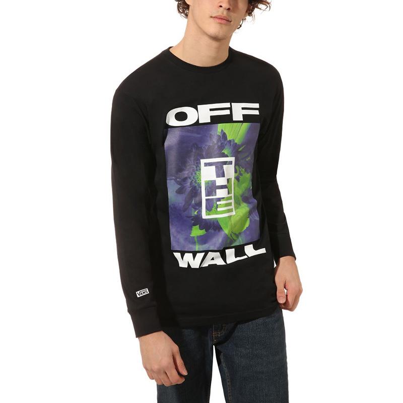 Vans Otw Collage Longsleeve T-Shirt Black