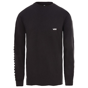 Vans Side Check Longsleeve T-Shirt Black