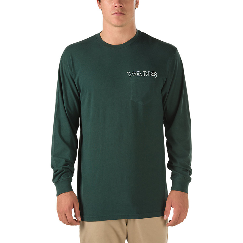 Vans Simple Longsleeve T-Shirt Scarab