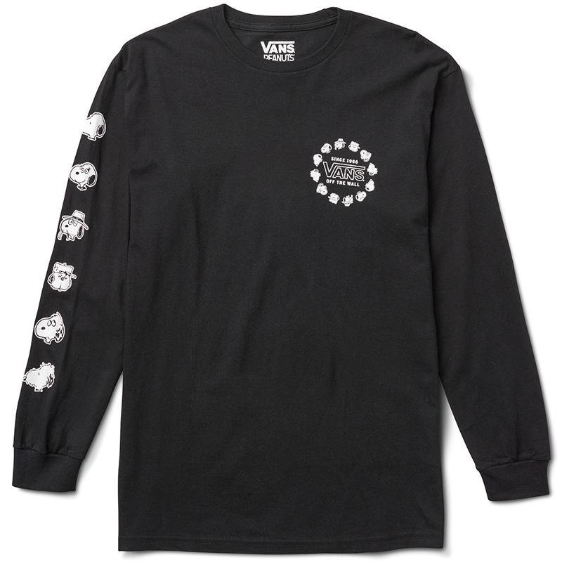 Vans X Peanuts Snoopy S Brothers Longsleeve T-Shirt Black
