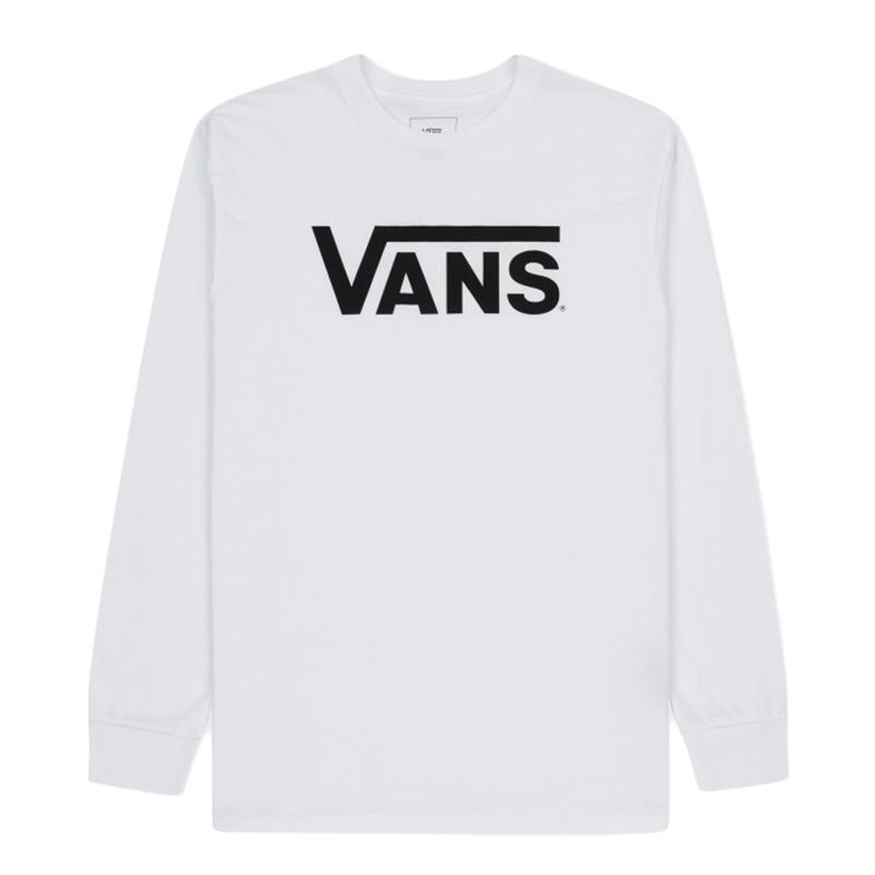 Vans Vans Classic Longsleeve T-shirt White/Black