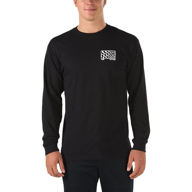 Vans X Spitfire Longsleeve T-Shirt Black
