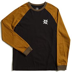 Volcom A.P. Longsleeve T-Shirt Hazelnut