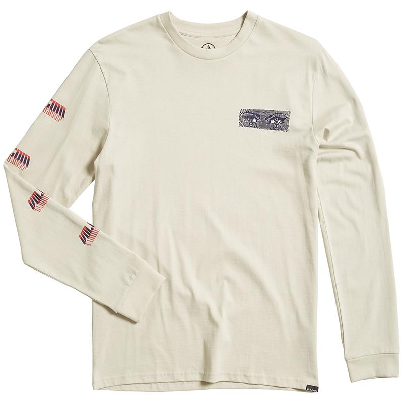 Volcom Black Hole HW Longsleeve T-Shirt Clay