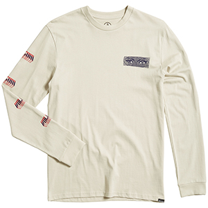 Volcom Black Hole HW Longsleeve T-Shirt Clay