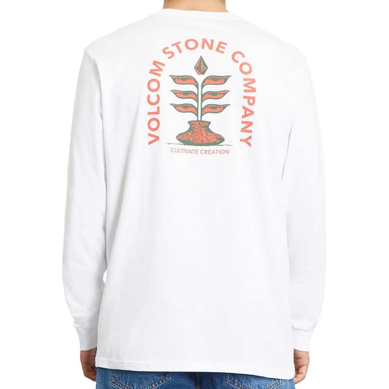 Volcom Culturevate Bsc Longsleeve T-Shirt White