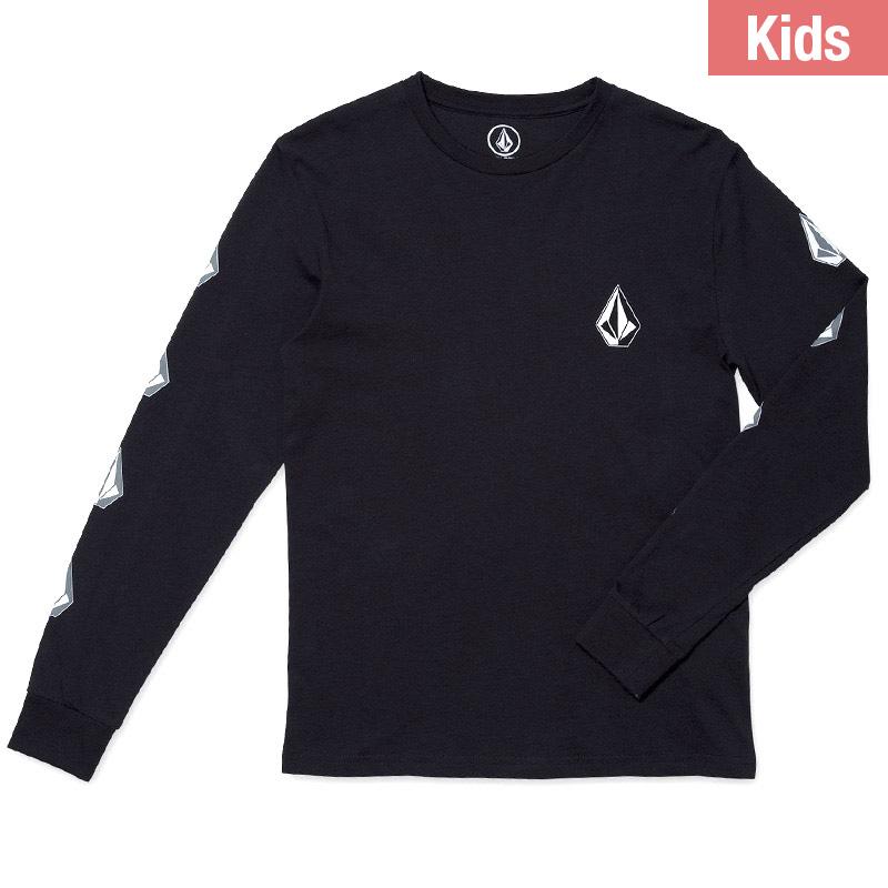 Volcom Kids Deadly Stone Bsc Longsleeve T-Shirt Black