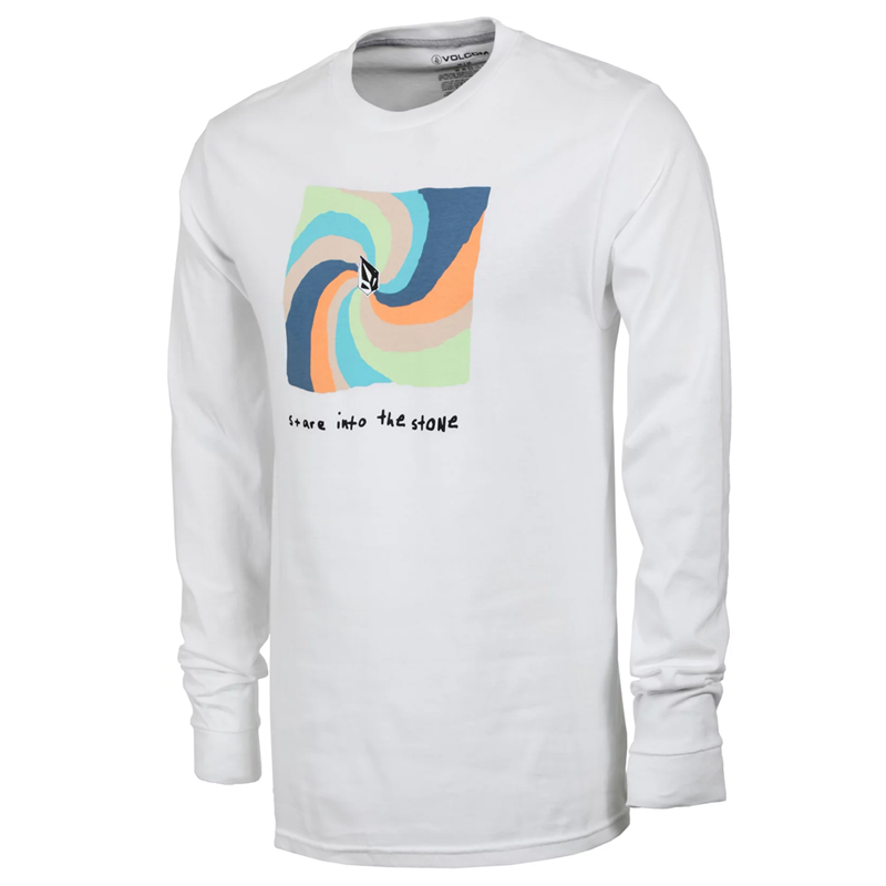 Volcom Earth People Basic Longsleeve T-Shirt White