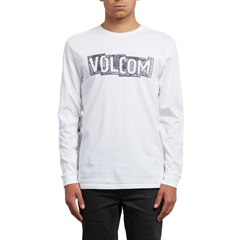Volcom Edge Longsleeve T-Shirt White