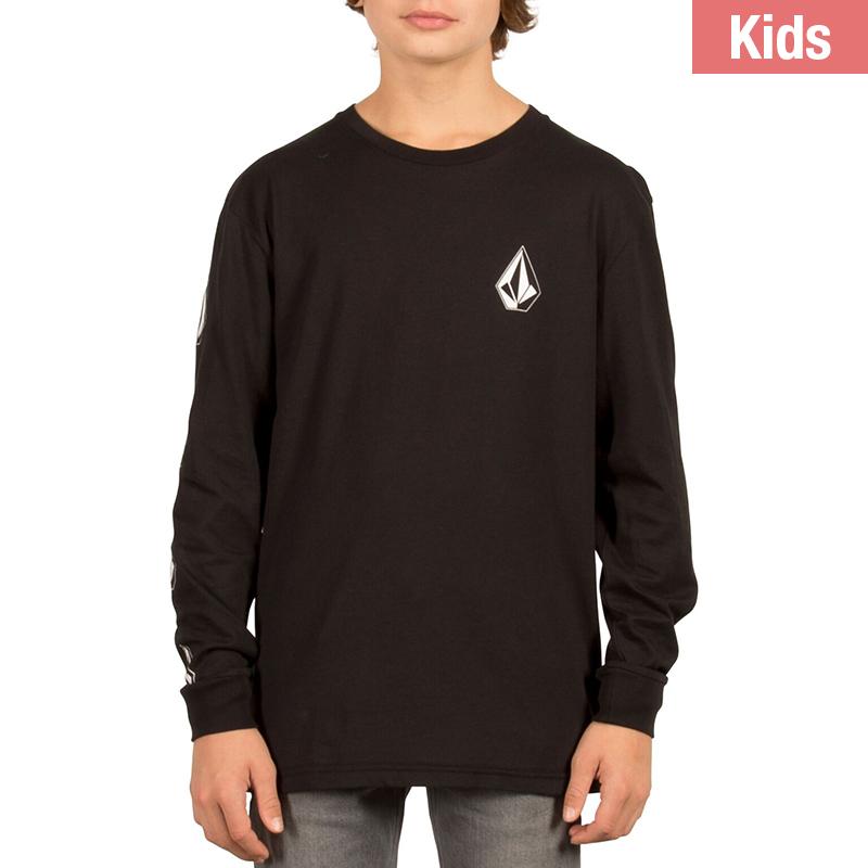 Volcom Kids Deathly Stone Bsc Longsleeve T-Shirt Black
