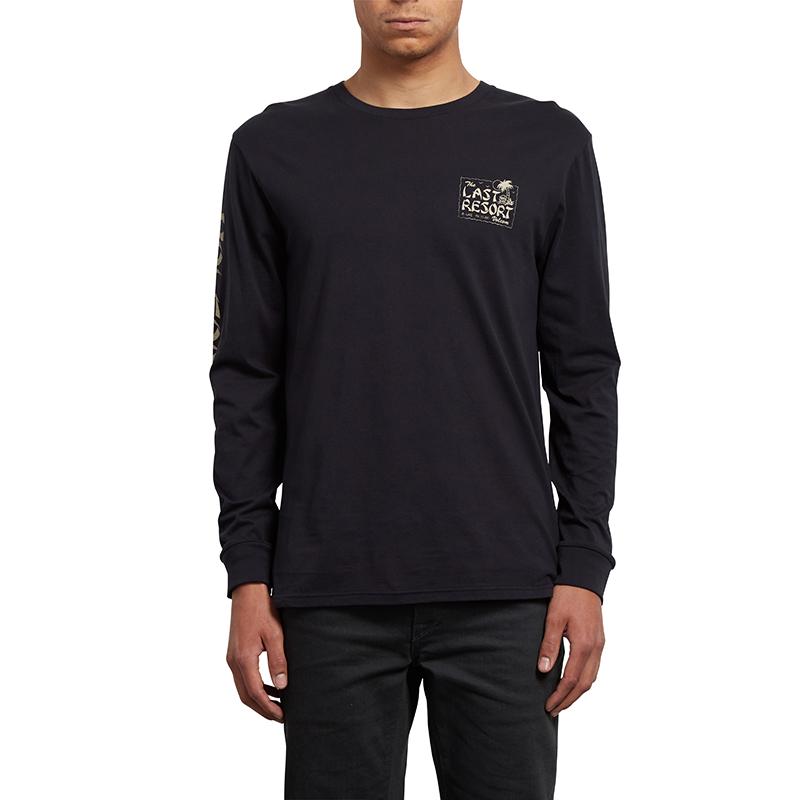 Volcom Last Resort Longsleeve T-Shirt Black