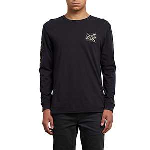 Volcom Last Resort Longsleeve T-Shirt Black