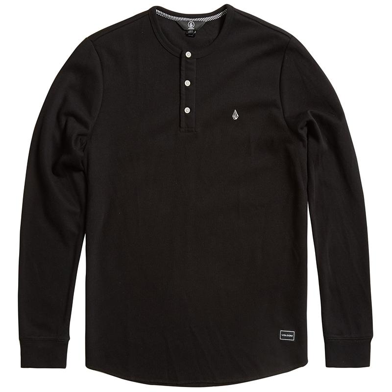 Volcom Layer Stone Longsleeve T-Shirt Black