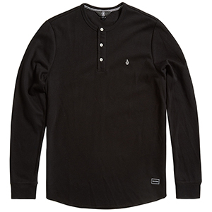 Volcom Layer Stone Longsleeve T-Shirt Black