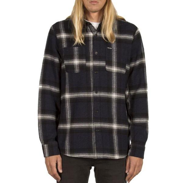 Volcom Lexicon Longsleeve Shirt Indigo