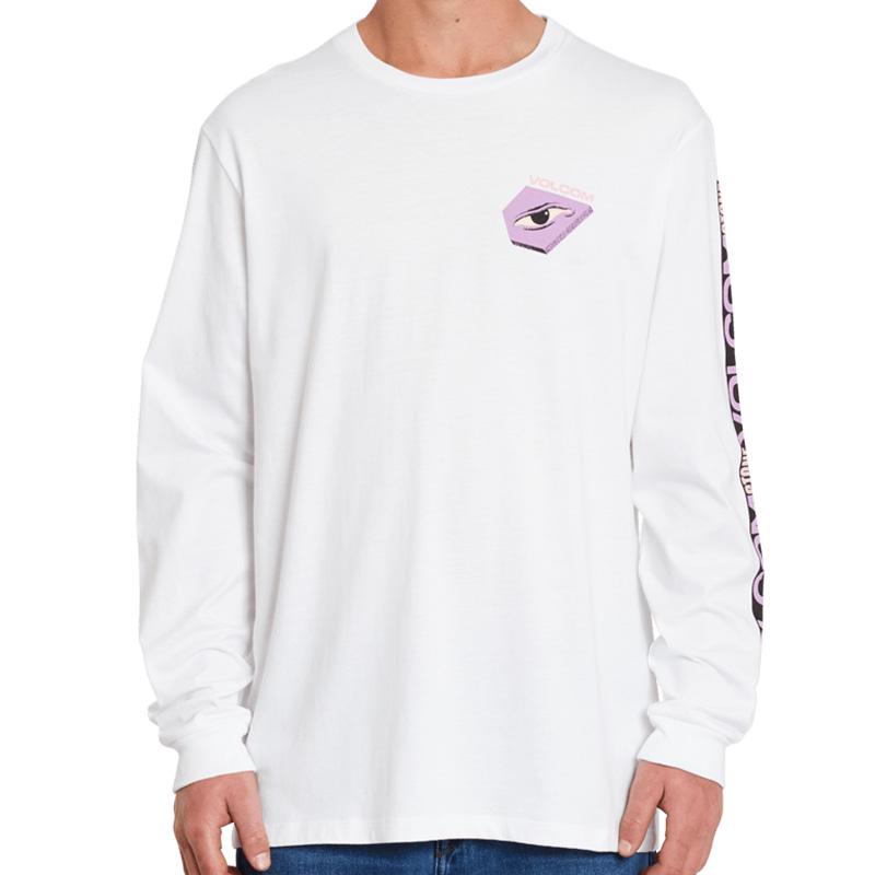 Volcom M. Loeffler Fa Longsleeve T-Shirt White