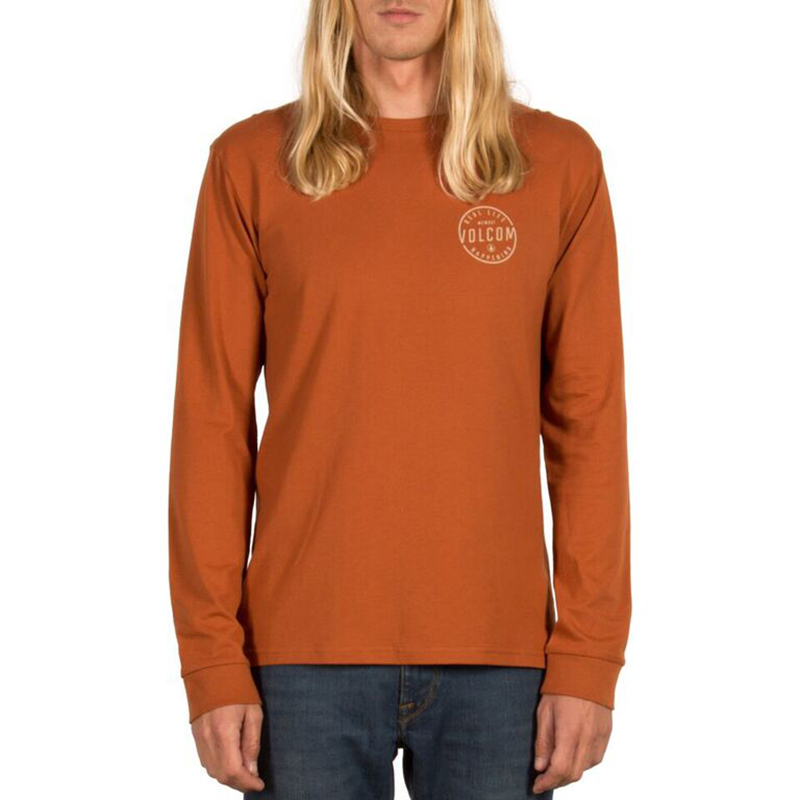 Volcom On Lock BSC Longsleeve T-Shirt Copper