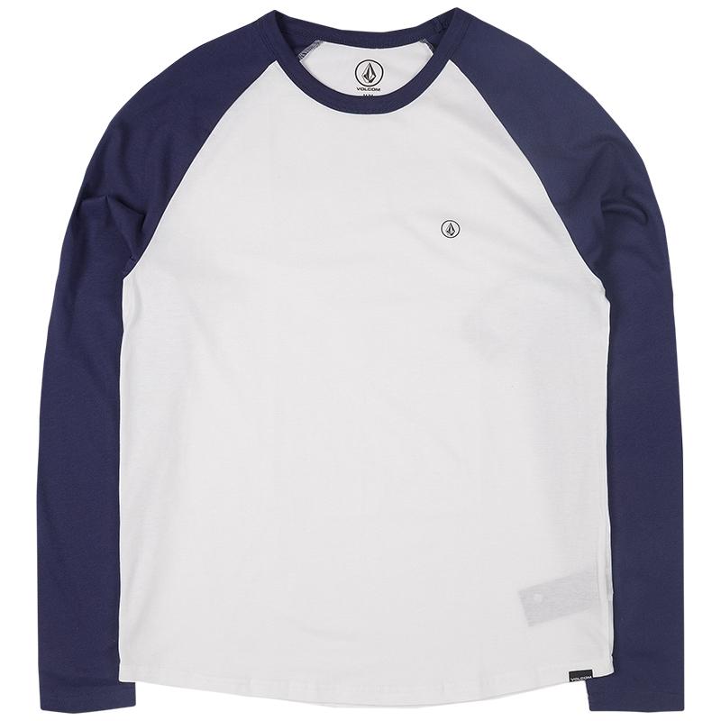 Volcom Pen Bsc Longsleeve T-shirt Blue Plum