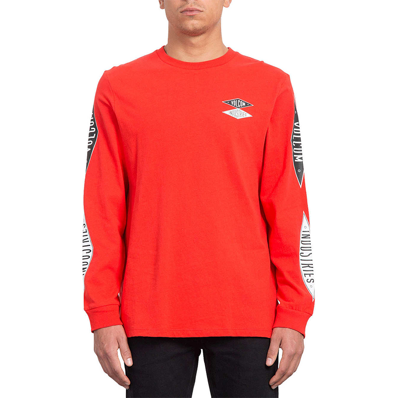 Volcom V.I. Bxy Longsleeve T-Shirt Bright Red